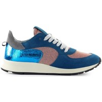 Chaussures Femme Baskets basses Philippe Model Montecarlo Blue