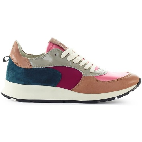 Chaussures Femme Baskets basses Philippe Model Montecarlo Pink