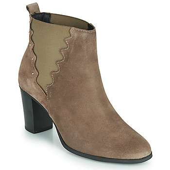 Chaussures Femme Bottines André NORINE Taupe