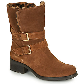 Chaussures Femme Boots André MAJOLIE Camel