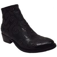 Chaussures Femme Boots Semerdjian er301 Noir
