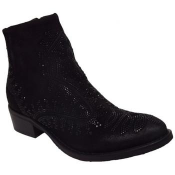 Chaussures Femme Boots Semerdjian er302 Noir