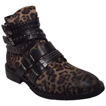 Chaussures Femme Boots Semerdjian er907e2 Marron