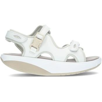 Chaussures Femme Sandales et Nu-pieds Mbt Sandales  KISUMU 3S WHITE