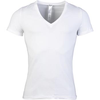 Vêtements Homme T-shirts manches courtes Hom - tee-shirt BLANC