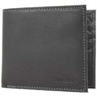 Sacs Femme Portefeuilles Wylson Porte cartes ultra plat en cuir mat  Rio Noir Multicolor