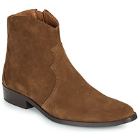 Chaussures Homme Boots André WESTERN Marron