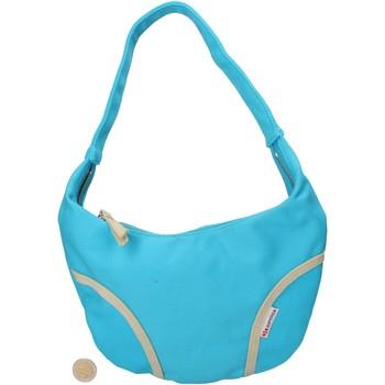 Sacs Femme Cabas / Sacs shopping Superga bleu clair toile AF679 bleu