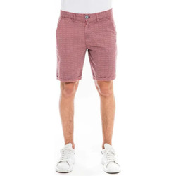 Vêtements Shorts / Bermudas Waxx Short Chino SUNLIT Rouge bordeaux