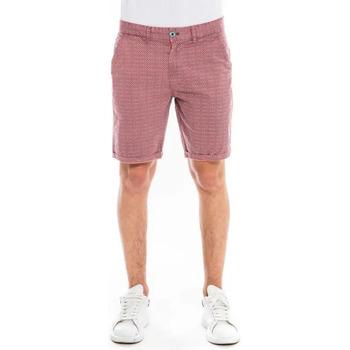Vêtements Homme Shorts / Bermudas Waxx Short Chino SUNLIT Rouge Bordeaux