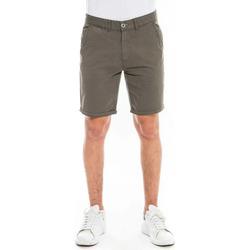 Vêtements Homme Shorts / Bermudas Waxx Short Chino SUNLIT Vert Kaki