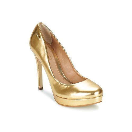 Chaussures Femme Escarpins Dumond MIRROURO Doré