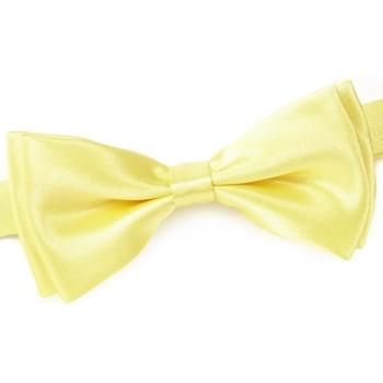 Vêtements Homme Cravates et accessoires Dandytouch Noeud papillon uni Jaune-napoli