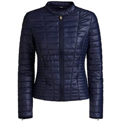 Vêtements Femme Doudounes Guess Veste Femme Vona W91L48 Bleu Marine (rft)