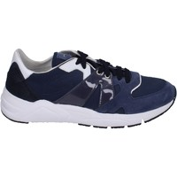 Chaussures Homme Baskets basses Guardiani sneakers textile bleu