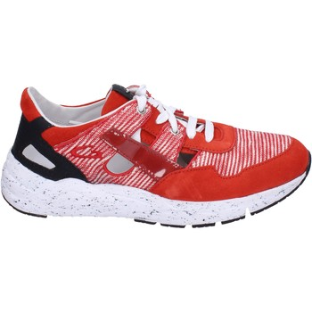 Chaussures Homme Baskets basses Guardiani sneakers textile rouge
