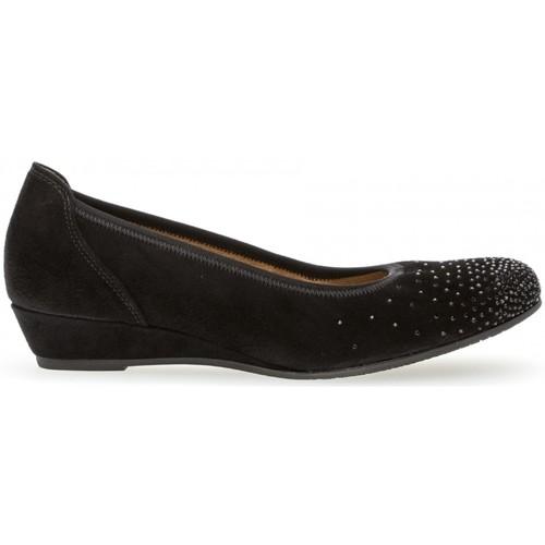 Chaussures Femme Ballerines / babies Gabor Ballerines conf t Noir