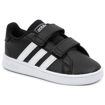 Chaussures Enfant Baskets basses adidas Originals Grand Court I Noir