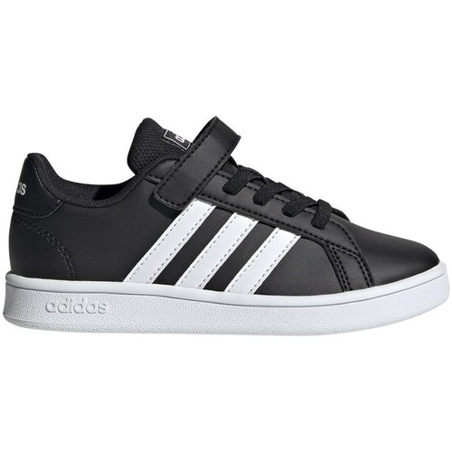 Chaussures Enfant Baskets basses adidas Originals Grand Court C Noir