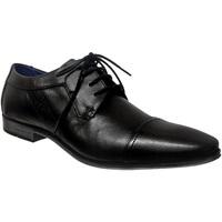 Chaussures Homme Derbies Bugatti Morino 312-42015 Noir cuir