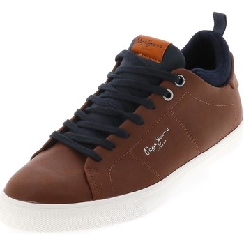 Chaussures Homme Baskets basses Pepe jeans Marton tan Marron