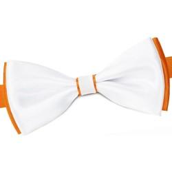 Vêtements Homme Cravates et accessoires Dandytouch Noeud papillon BeCool York Orange