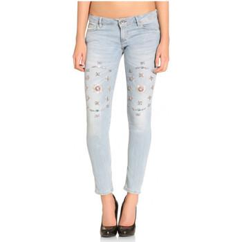 Vêtements Femme Jeans slim Guess Jeans Skinny  W514043D1 Bleu