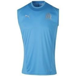 Vêtements Homme Débardeurs / T-shirts sans manche Puma OLYMPIQUE Bleu