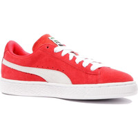 Chaussures Femme Baskets basses Puma SUEDE CLASSIC Rouge