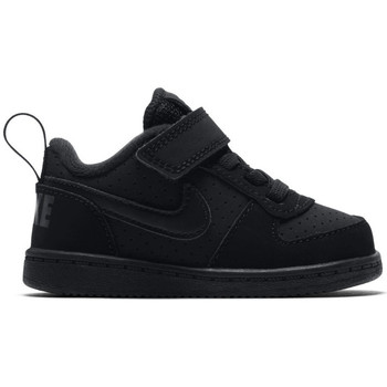 Chaussures Garçon Baskets basses Nike Boys'  court borough low (td) toddler shoe Noir