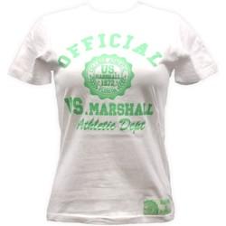 Vêtements Femme T-shirts manches courtes Sweet Company T-shirt US Marshall Blanc florida Blanc