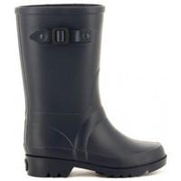Chaussures Garçon Bottes de pluie IGOR W115 PITER bleu