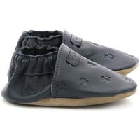 Chaussures Garçon Chaussons bébés Robeez Mywood MARINE