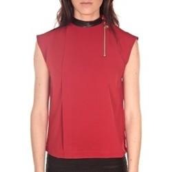 Vêtements Femme Tops / Blouses By La Vitrine Débardeur  Rouge Rouge