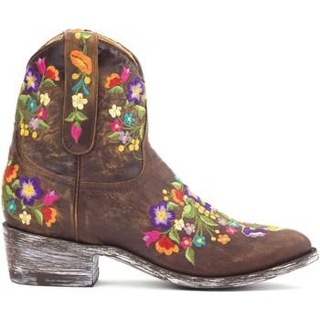 Chaussures Femme Boots Mexicana Bottines  Sorazipper Marron