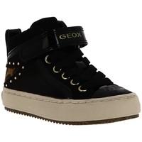Chaussures Garçon Baskets montantes Geox J KALISPERA Noir