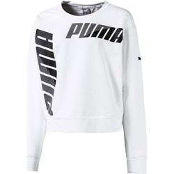 Vêtements Fille Sweats Puma MODERN SPORTS CREW SWEAT FELPA BIANCA Blanc