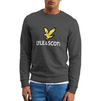Vêtements Homme Sweats Lyle & Scott Lyle  Scott  Logo Sweatshirt Gris  LYSMLSML1022V 398 Gris