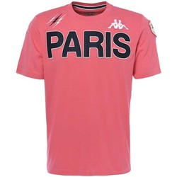 Vêtements Homme T-shirts manches courtes Kappa Tee-shirt rugby Stade Français Rose