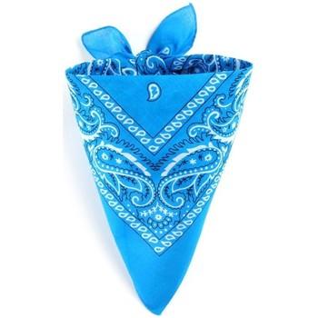 Accessoires textile Echarpes / Etoles / Foulards Allée Du Foulard Bandana coton Paisley Cyan