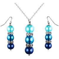 Montres & Bijoux Femme Parures Blue Pearls OCP 0202 Multicolore