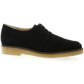 Chaussures Femme Derbies Vidi Studio Derby cuir velours Noir