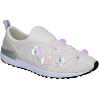 Chaussures Femme Slip ons Liu Jo slip on textile blanc