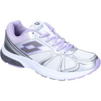Chaussures Femme Baskets basses Lotto sneakers textile blanc
