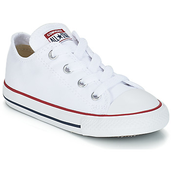 Chaussures Enfant Baskets basses Converse CHUCK TAYLOR ALL STAR CORE OX  Blanc Optical 48e251980d4