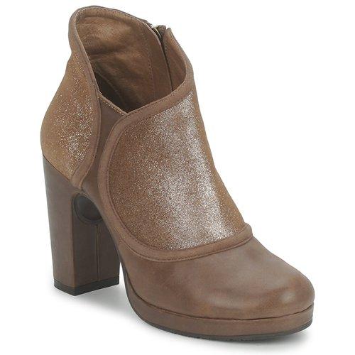 Chaussures Femme Low boots Esska TILLY Marron / Pailleté
