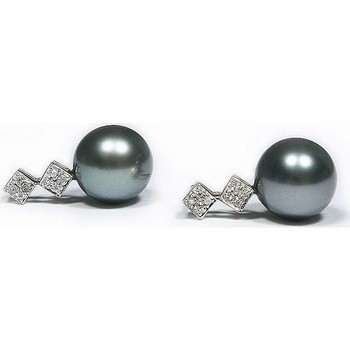 Montres & Bijoux Femme Boucles d'oreilles Luna-Pearls O124-TE0111 Multicolor