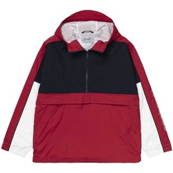 Vêtements Homme Coupes vent Carhartt TERRACE PULLOVER DARK rouge