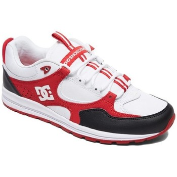 Chaussures Homme Chaussures de Skate DC Shoes KALIS LITE black red white Rouge