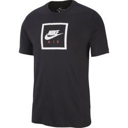 Vêtements Homme T-shirts manches courtes Nike - T-Shirt Air 2 - BV7639 Noir